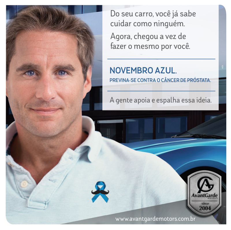 Novembro Azul - Post