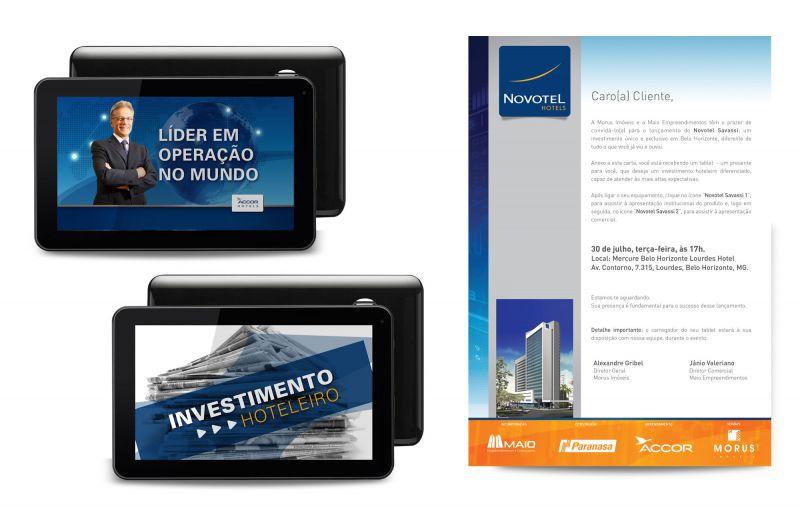 Tablet carta convite